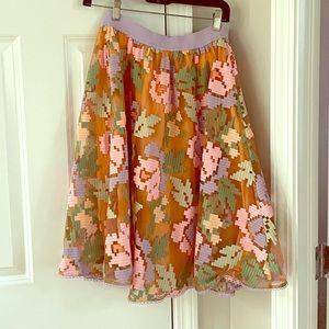 Maeve by Anthropologie Petite Medium Skirt